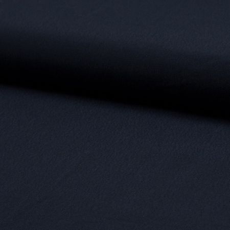 Tissu crêpe de viscose - Bleu marine