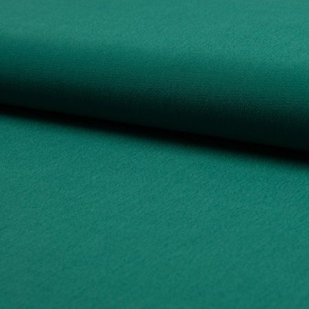 Tissu crêpe de viscose - Vert émeraude