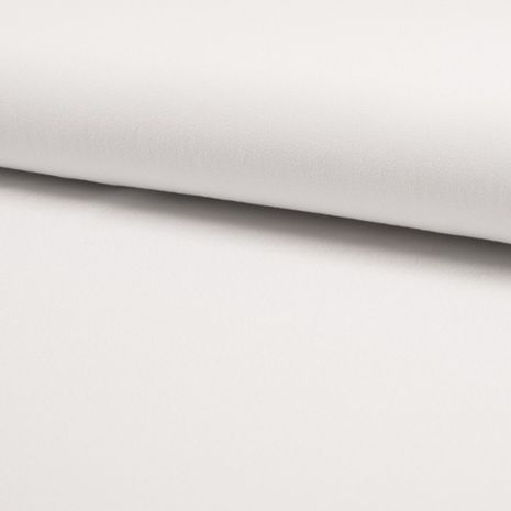 Tissu crêpe de viscose - Blanc