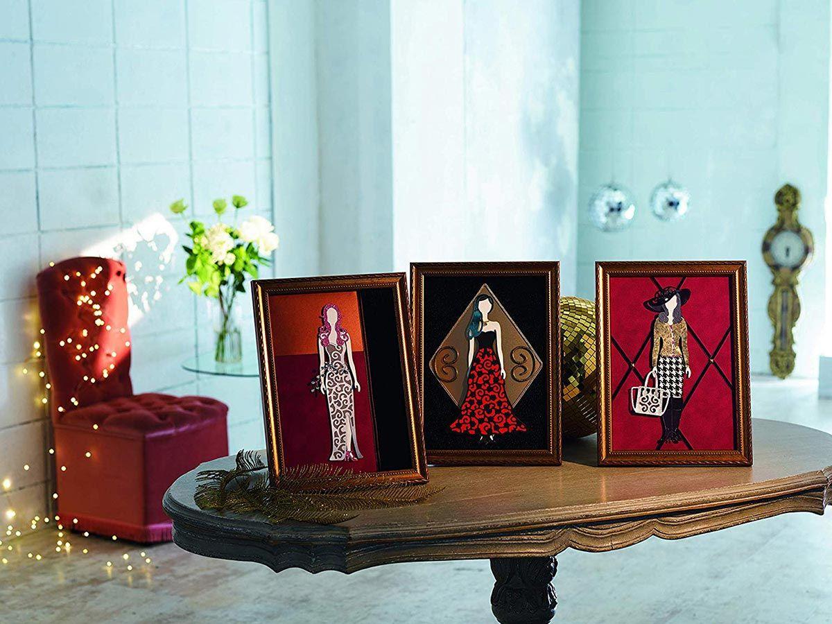 Collection n° 13 de motifs dentelle Tattered Lace ScanNCut
