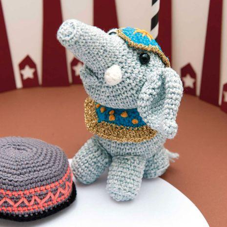 Kit crochet amigurumi - Elephant