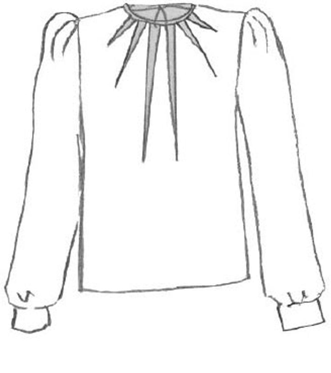 Patron de robe, blouse Zénith - Maison Fauve