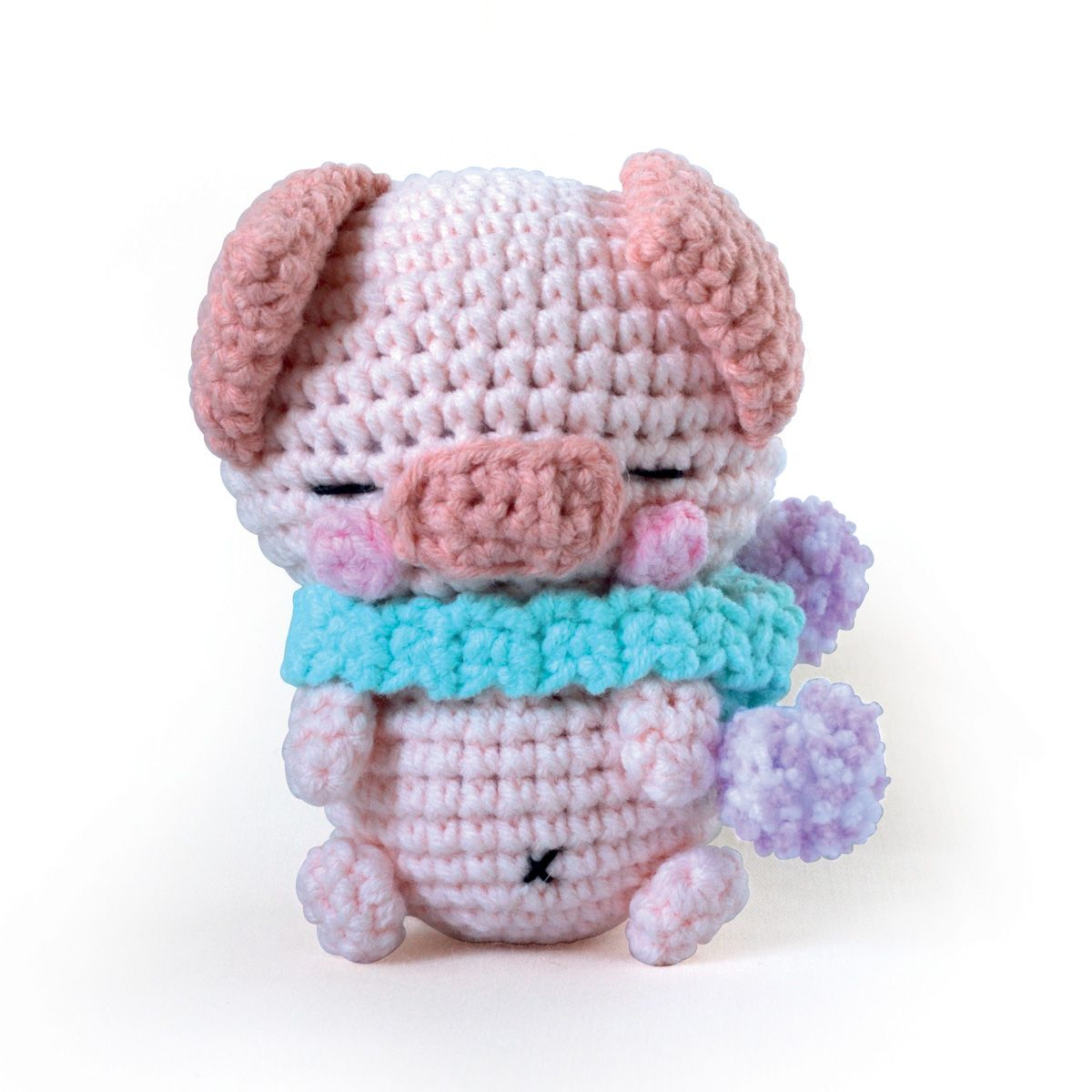 Kit crochet minigurumi - Poco le cochon