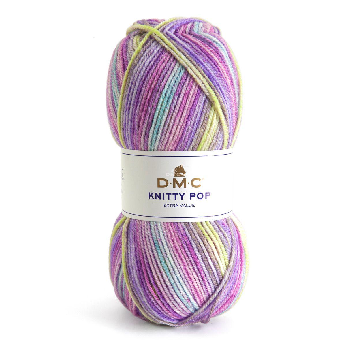 Fil à tricoter Knitty Pop DMC