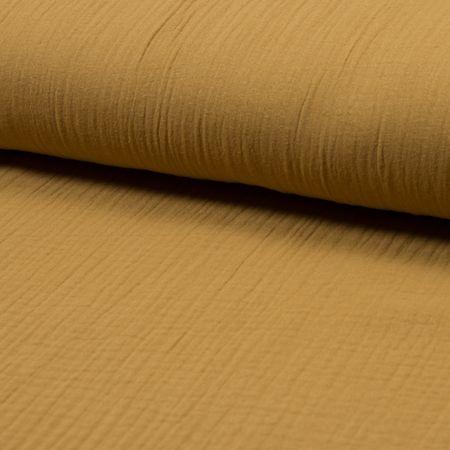Tissu double gaze de coton - Savanne