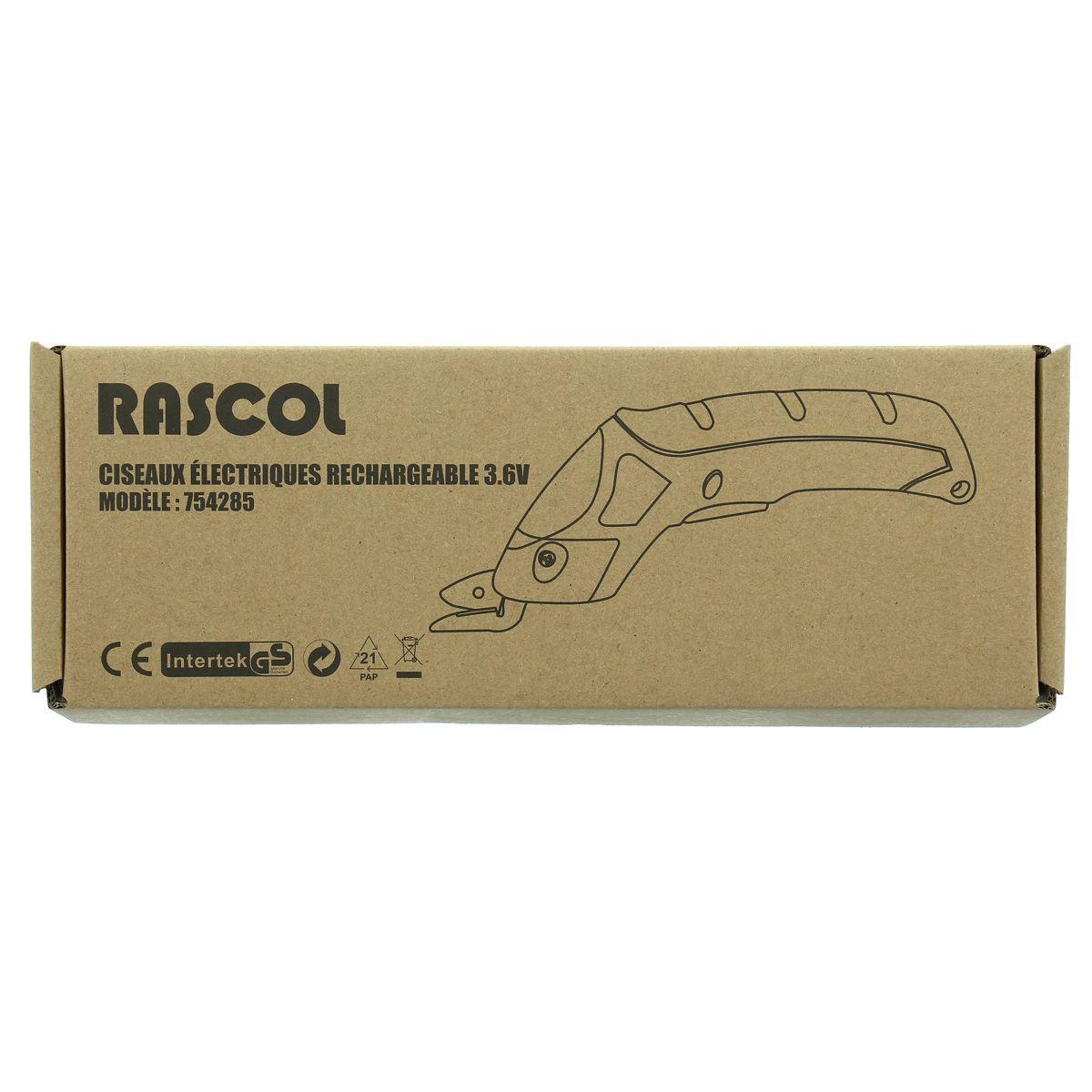Ciseaux électriques rechargeable Rascol