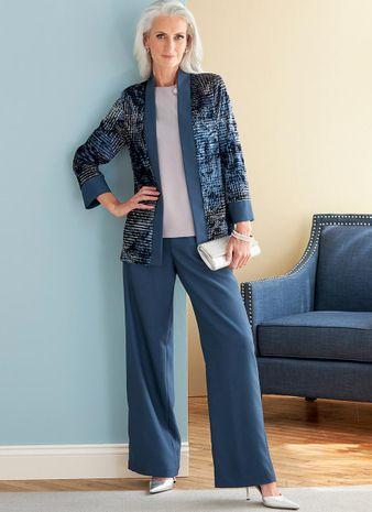 Patron de veste, robe, haut, jupe et pantalon - Butterick 6796
