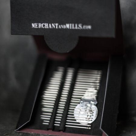 Carnet de 25 aiguilles à coudre fines Merchant & Mills