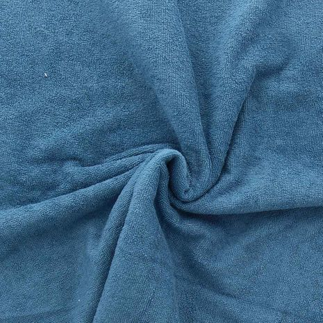 Tissu micro éponge de bambou - Denim