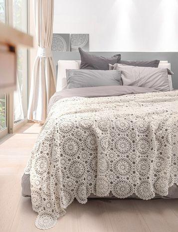 Modèle de couvre-lit