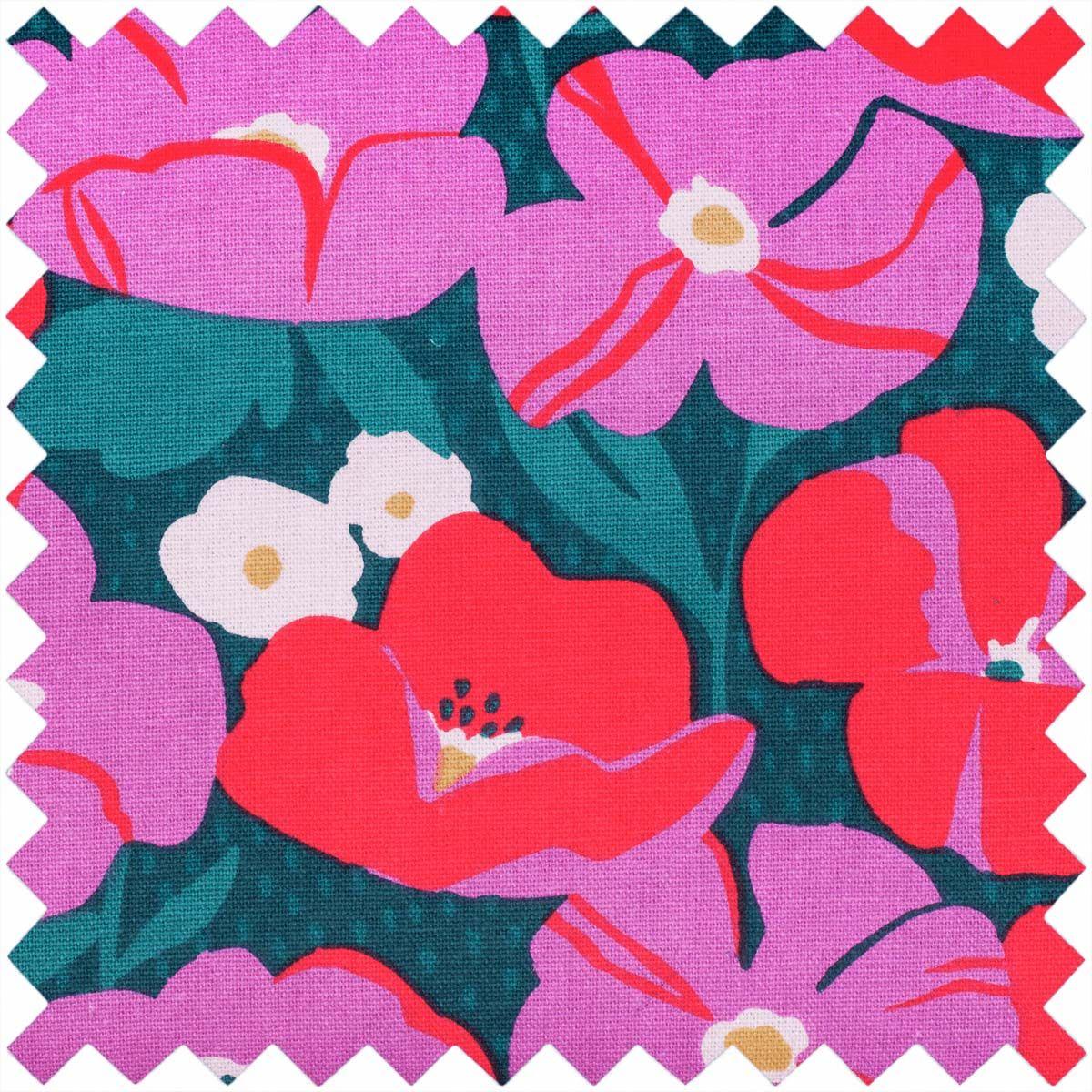 Boite à couture - Fleurs modernes L
