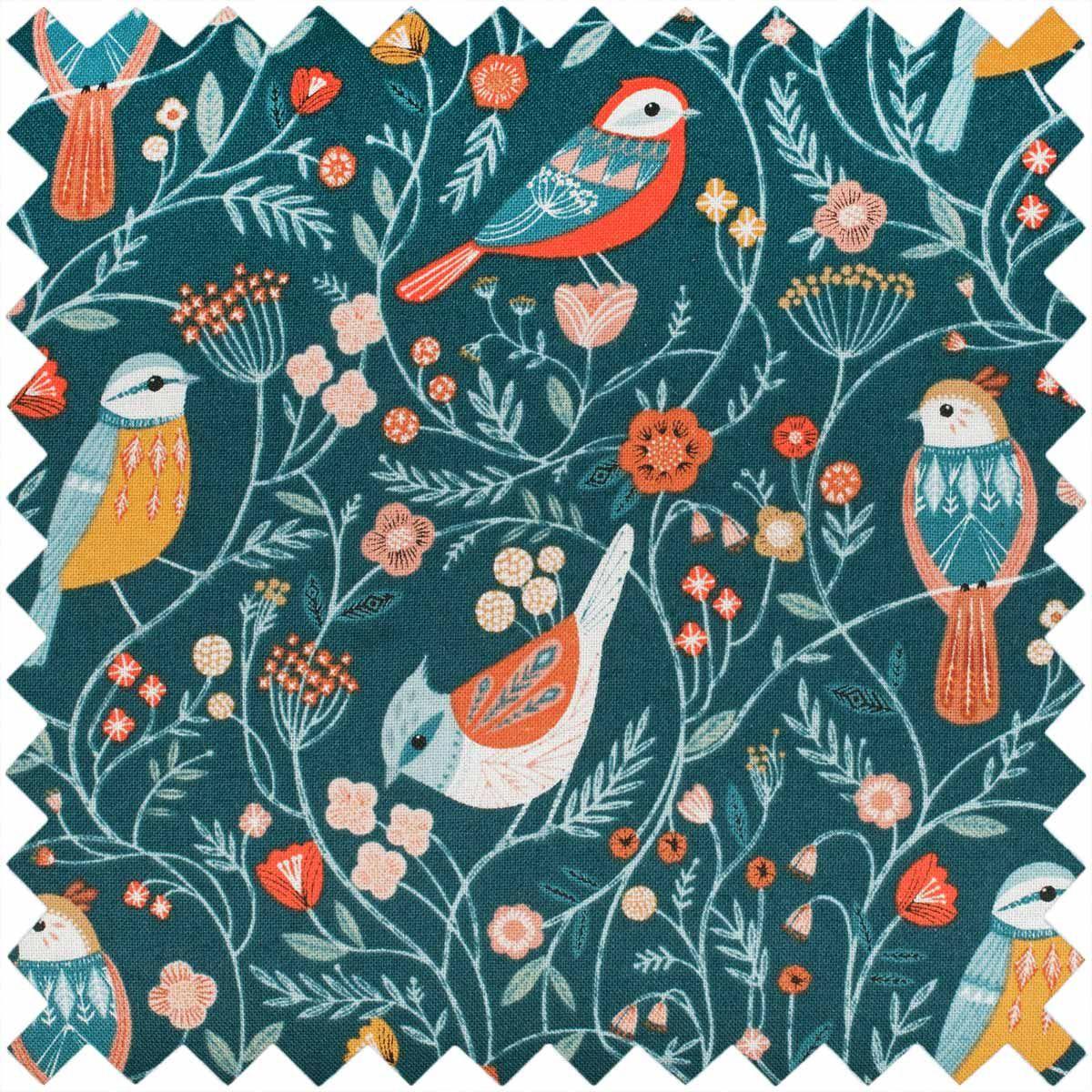 Boite à couture - Oiseaux M