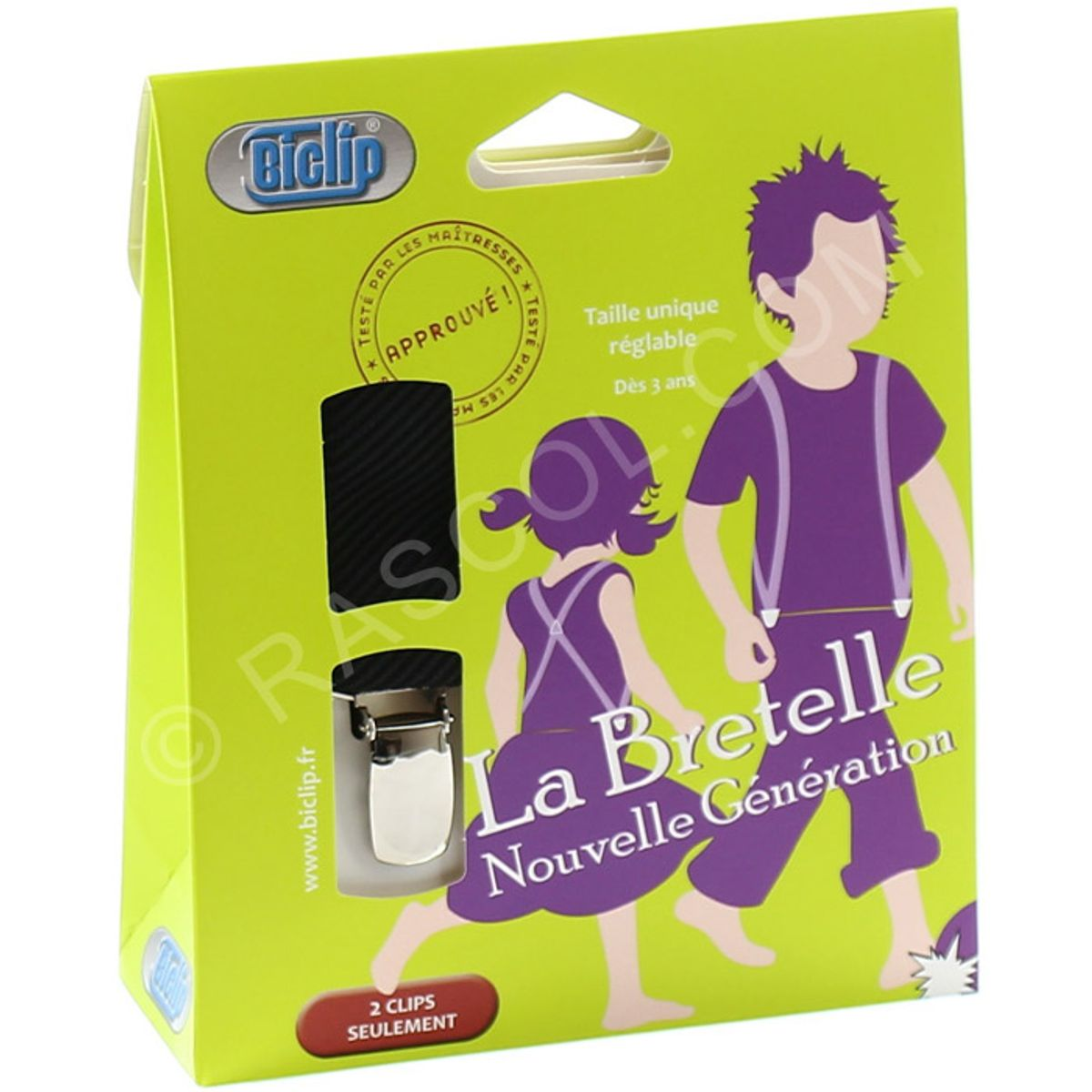 Bretelles Biclip harnais pour enfant