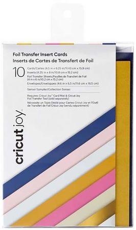 Set de 10 cartes avec enveloppes spécial Foil Cricut Joy