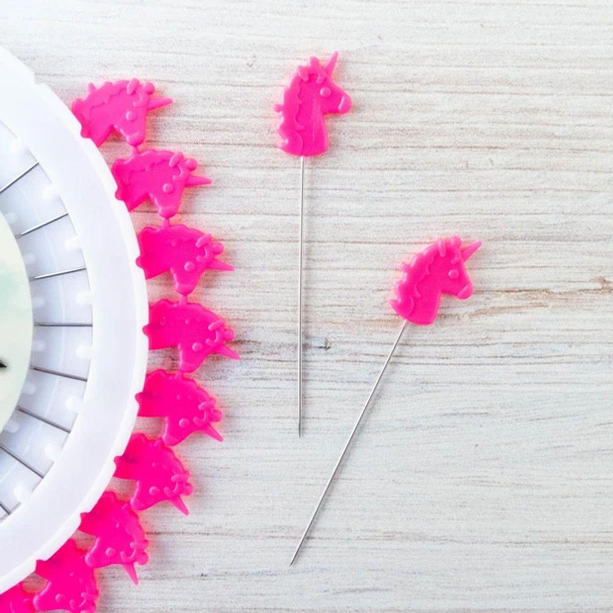 Disque de 30 épingles tête de licorne Tula Pink