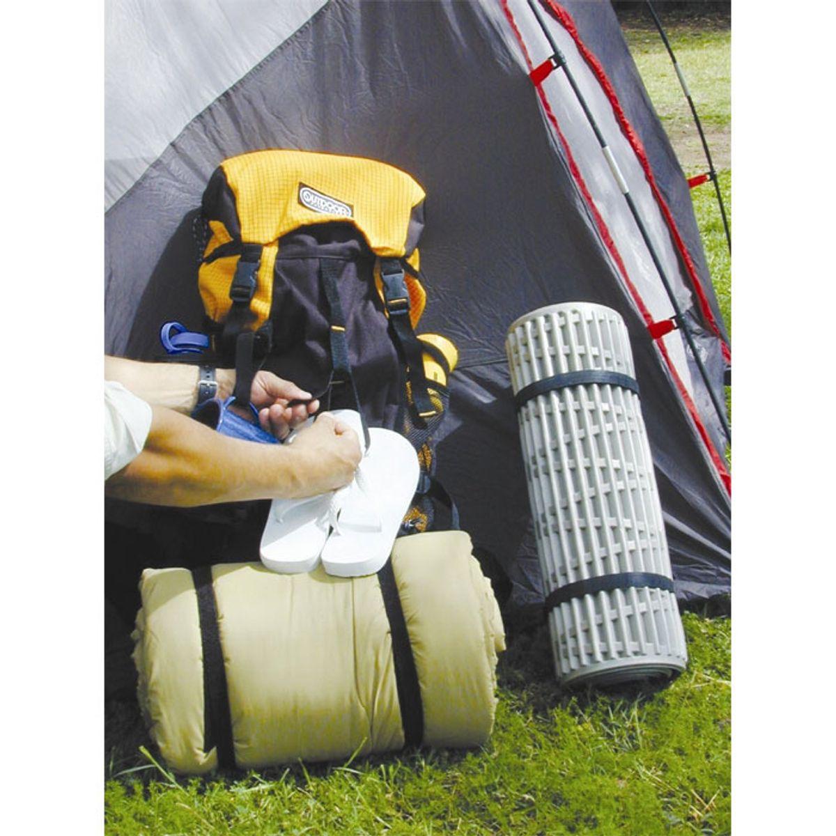VELCRO® Brand Sangle étirable ajustable 25mm x 68cm x 2 Noir