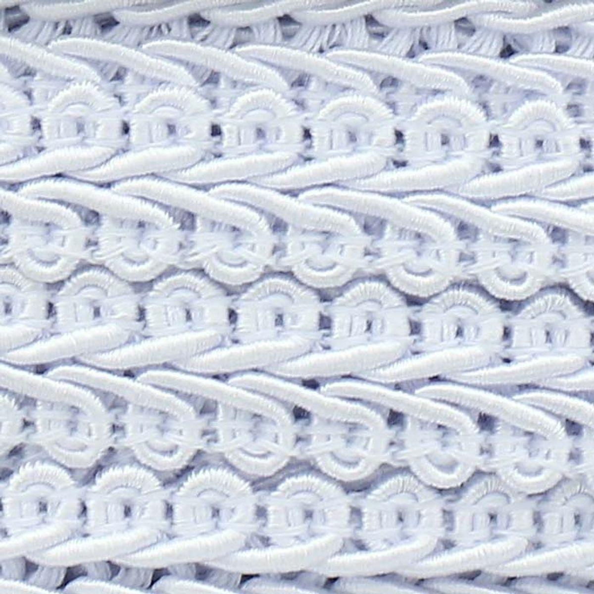 Galon épi style Chanel - Blanc
