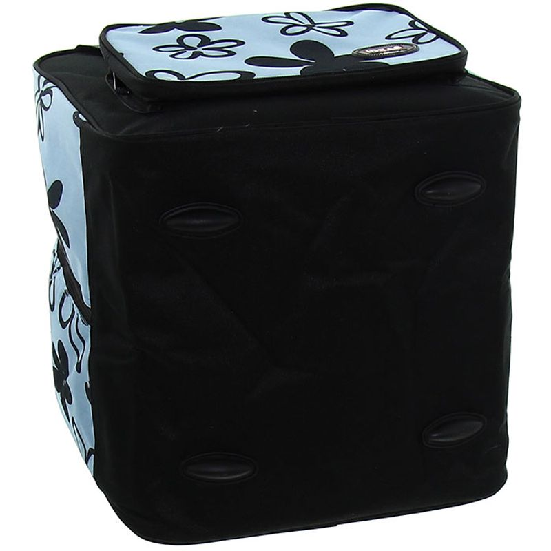 housse de rangement pour surjeteuse bleu rascol. Black Bedroom Furniture Sets. Home Design Ideas