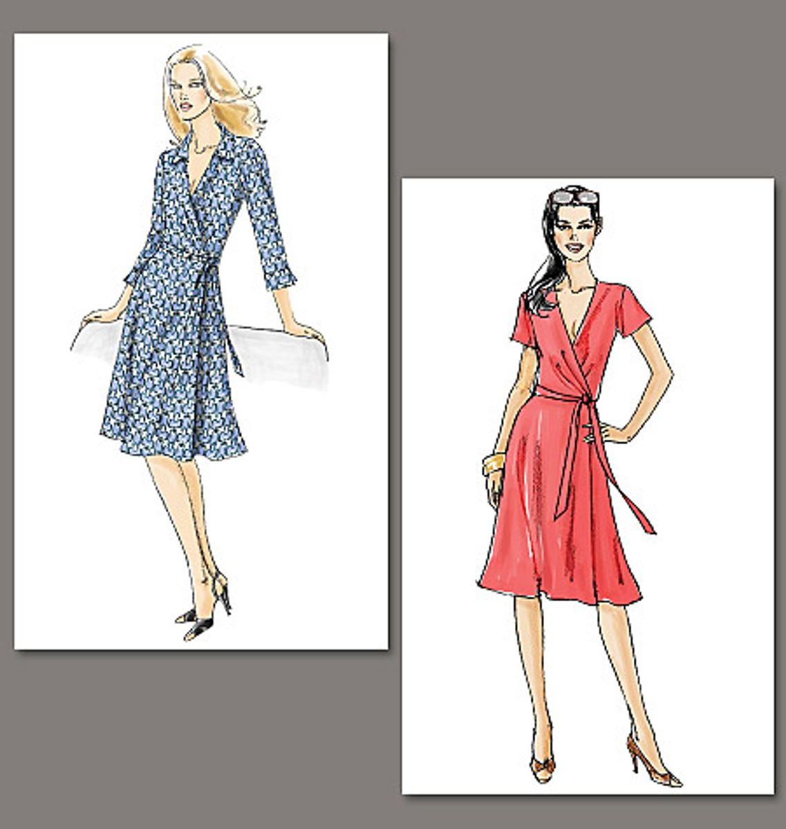 Patron de robe - Vogue 8379