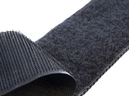 VELCRO® Brand à coudre noir 25 mm de large au mètre
