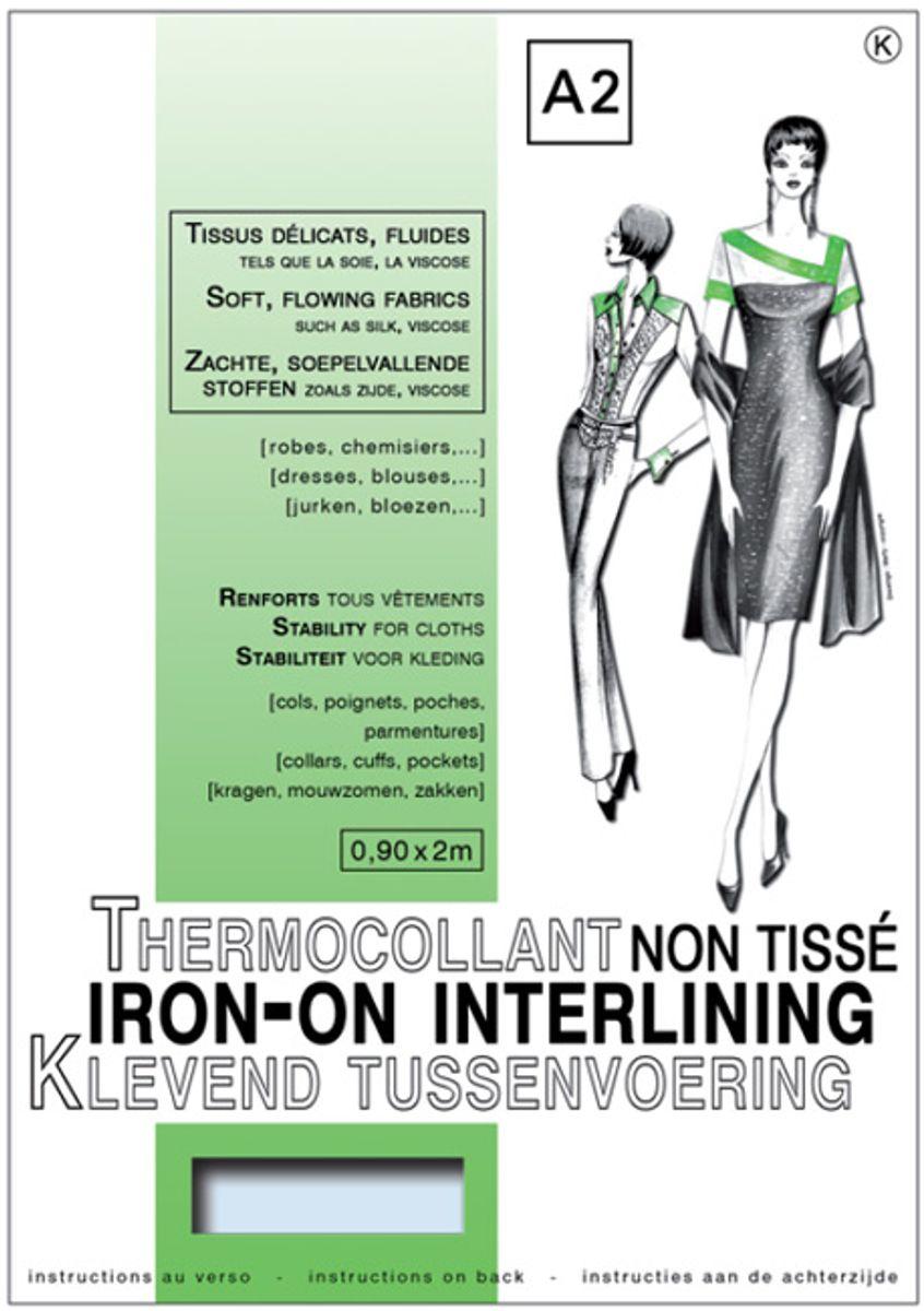 Entoilage non tissé thermocollant - Tissus délicats & Fluides