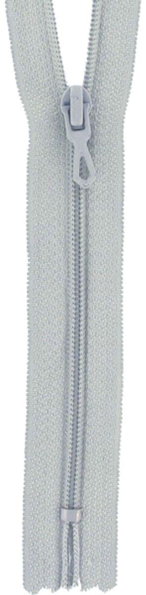 Fermeture éclair nylon - Gris goéland