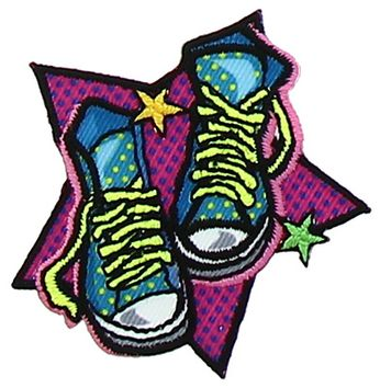 Motif chaussures pop art