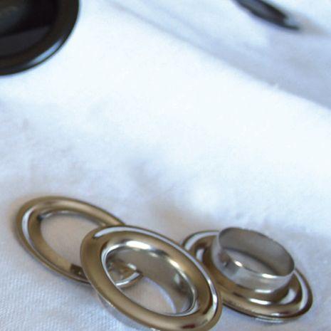 Oeillets laiton pour rideaux Ø 40 mm