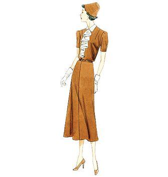 Patron de robe - Vogue 9148