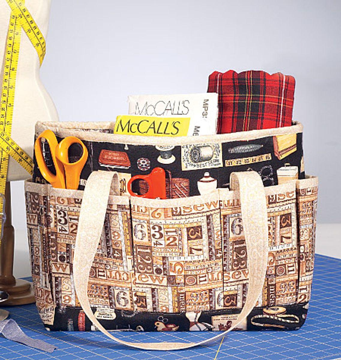 Patron de sacs à ouvrages - McCall's 7265