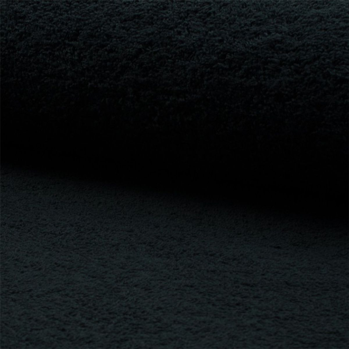 Tissu éponge - Noir