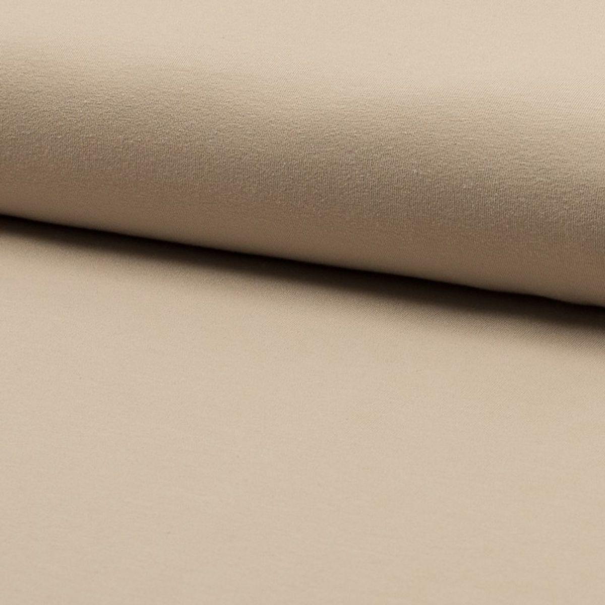 Tissu jersey coton - Sable