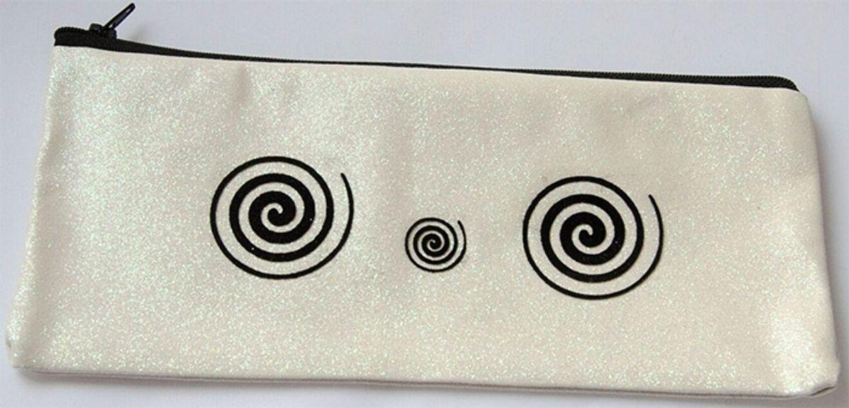 Tissu pailleté 66 x 45 cm - Cuivre