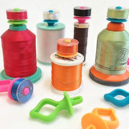 Porte-canettes pour bobines de fils