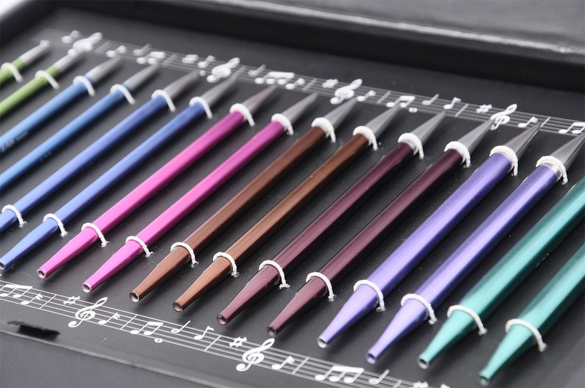 Coffret aiguilles à tricoter circulaires KnitPro Melodies of Life