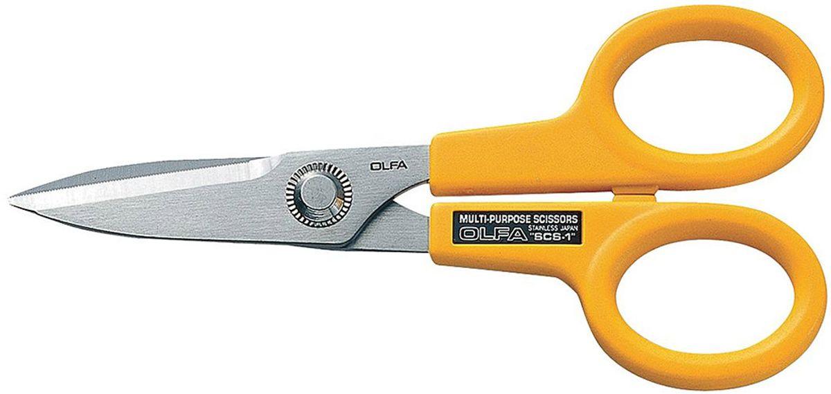 Ciseaux multifonctions microdentés Olfa 14 cm