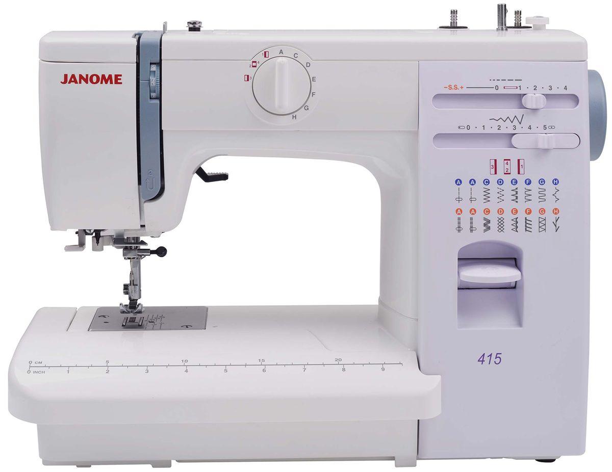 Machine à coudre Janome 415