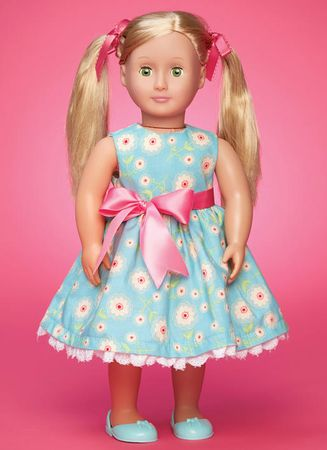 Patron vêtements pour poupée - McCall´s 7583