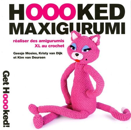 Livre Hoooked maxigurumi