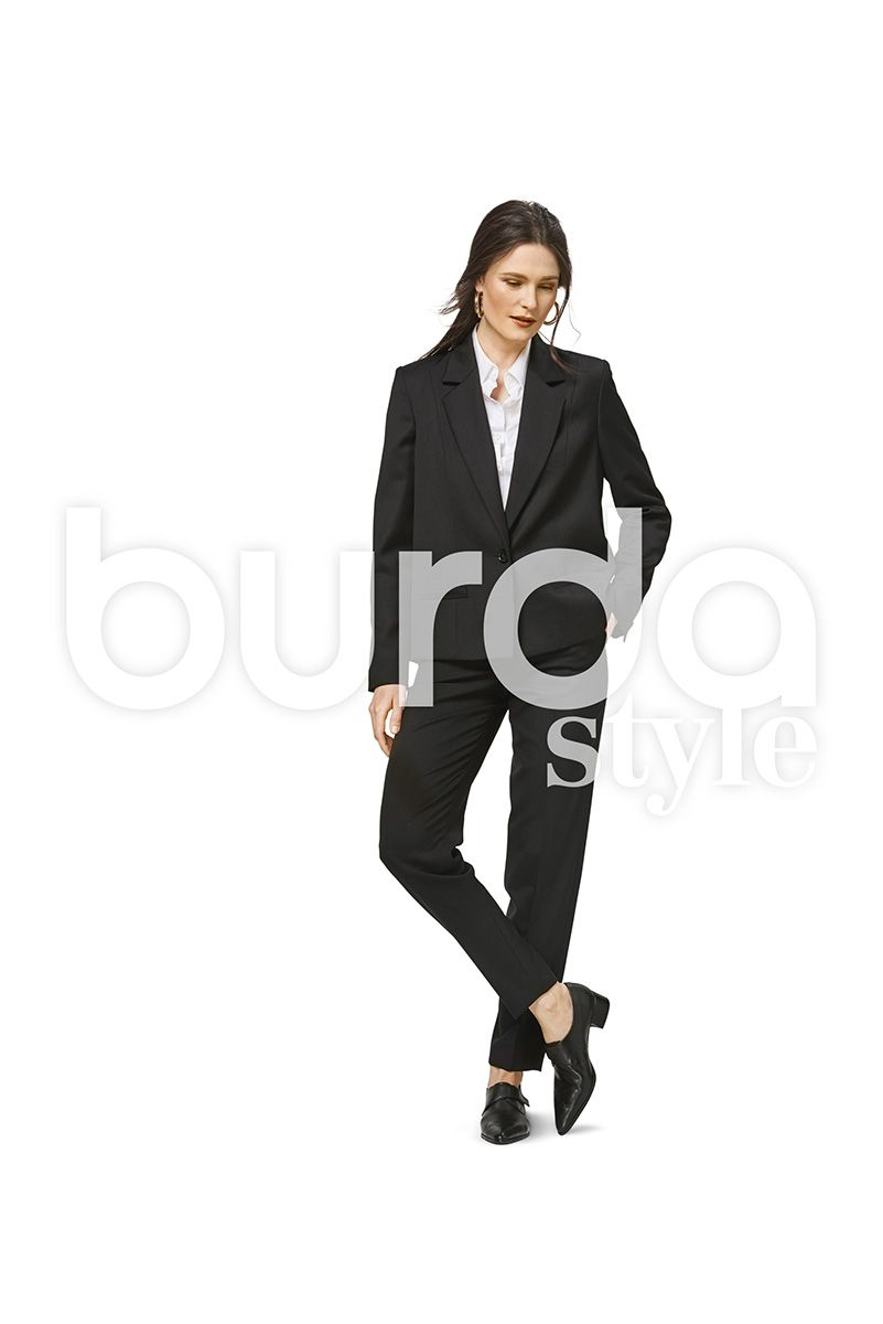 Patron de veste - Burda 6463