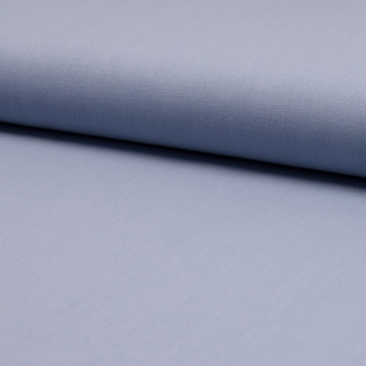 Tissu coton uni - Bleu gris