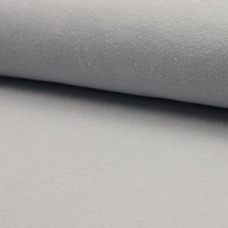 Tissu jersey bord côte - Argent clair