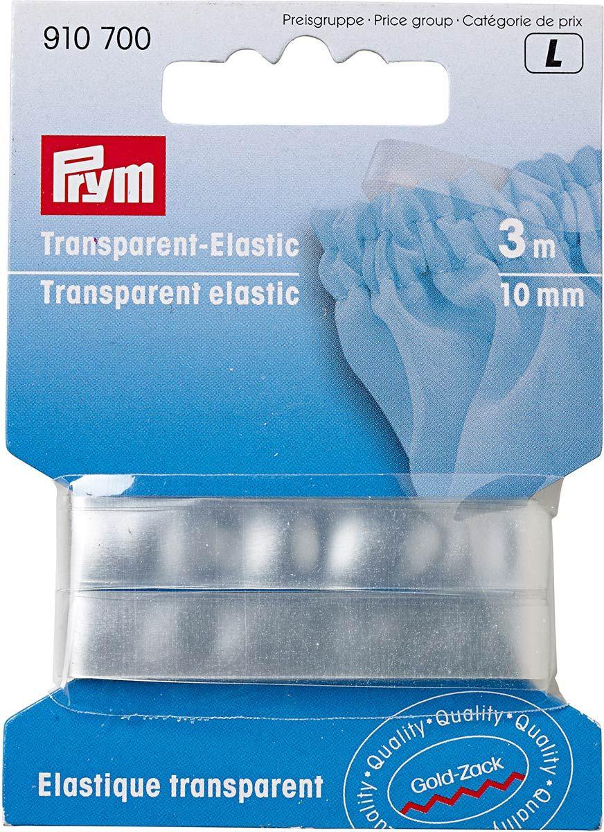 Élastique transparent