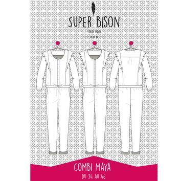 Patron de combinaison Maya - Super Bison