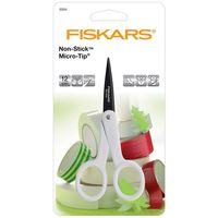 Ciseaux Fiskars anti-adhésifs Micro-tip 12 cm