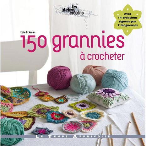 Livre 150 grannies à crocheter
