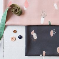 Tissu viscose Moonstone Blue - Atelier Brunette