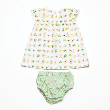 Patron de robe et culotte - Katia Fabrics B4