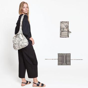 Patron de sac japonais et porte-monnaie - Katia Fabrics A5