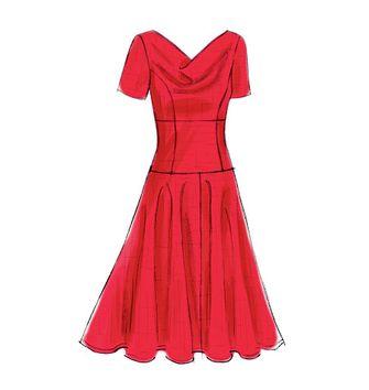 Tissu coton 3 Wishes Fabric - Fleurs roses fond gris